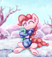 Winter Pie by INowISeeI