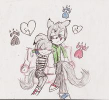 .:Request:. Wolf paws by XxAlternative-Dreams