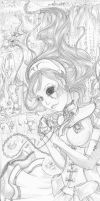 Alice in wonderland by MimaButtons