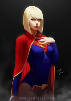 SuperGirl by SourAcid