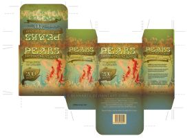 Pears Soap Box Art Nouveau by beanarts