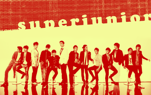 super junior: red and orange by ailend
