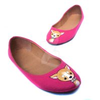 Chihuahua shoes by miss-bunny-shoes