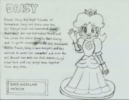 My SSB character Trophies Daisy Classic ( Sketch ) by RamosisMario89
