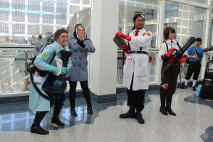 Medics...and a Spy - AX 2012 by AtomicBrownie
