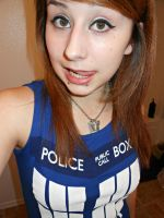 TARDIS Dress! by PunkGaaraGirl17