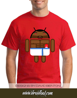 Android Logo Tee: Old Spice Andy by DesignBomb