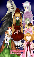 Rozen Maiden Traumend by Metyuu
