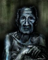 Old lady by space-for-thought