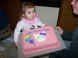 Eowyn and Birthday Cake by Thora-T