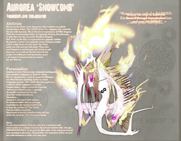 Auroress The 'Snowcomb' || Ref by Metie