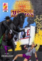 Steph Brown Adventures cover #10 by Chickfighter