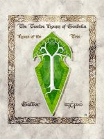Middle-earth heraldry: Galgor (Tree) by Aglargon