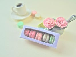 Box of Macarons by AGTCT