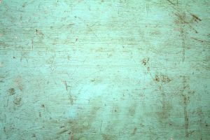 green painted distressed wood by beckas