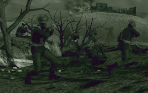 Battle of Monte Cassino by caastel