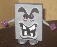 Whomp Papercraft by paperart