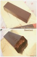 Galler Hazelnut Dark Chocolate by bentobear