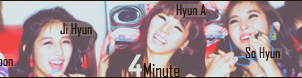4Minute Banner by lLemonPie