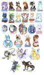 Badge Compilation 2013-2014 by Tigsie