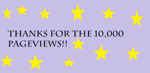 Thank You For the 10,000 Pageviews!! by DarkJanet