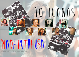 +10 Iconos de Made in The Usa by CatiiStyles