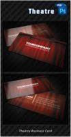 Theatre Business Card by k0z3y