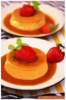 Traditional Caramel Flan by theresahelmer