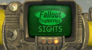 Fallout Equestria: Sights (cover) by JustMoth