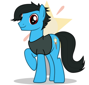 Acharky | Vector Commission by GoldenFoxDA