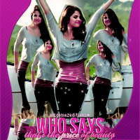 Blend Selena Gomez #17 by VicGomezEditions