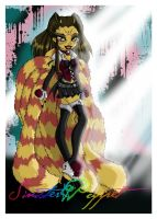 Monster High OC by sinister-puppet