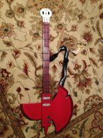 Marshall Lee axe guitar by Tannorsmanga