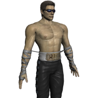 Johnny Cage no Tattoo Mod by Jill-Valentine666