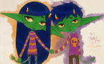 The Goblin Twins by Estherella