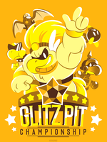 GLITZ PIT (T-Shirt) by Versiris