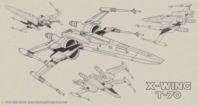 T-70 X-Wing Composite by Ravendeviant