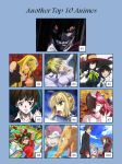 Another Top 10 Animes by artdog22