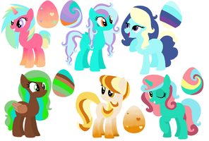 Surprise MLP Egg Adopts Hatched by Kikai-Kumo