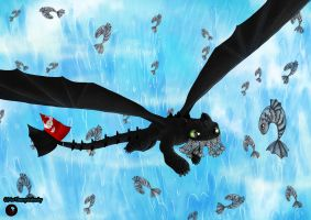 Gone fishing HTTYD 2 by Themystichusky