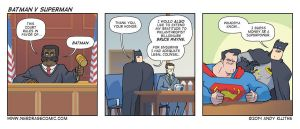 Nerd Rage - Batman v Superman by AndyKluthe