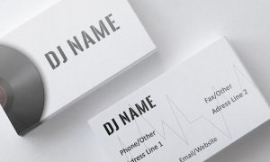 Music Business Card by SobohRami