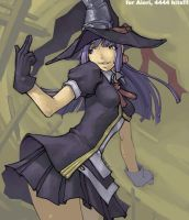 Fanart of a witch for Aiori by tsubibo