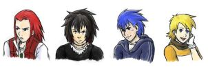 If they were human... by Kayla-Chan