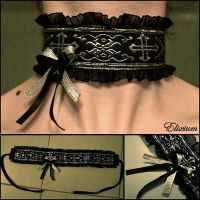 Holy Empire Choker by elixiumgothic