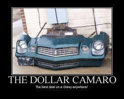 The Dollar Camaro by LDLAWRENCE
