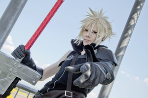 Cloud Strife FF7 AC cosplay II by Akitozz6