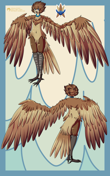 Susan Tallor - Harpy by RetroInk