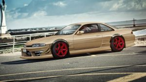 Nissan 200SX(S14) by tuninger
