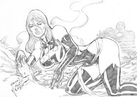 _Miss Marvel by JardelCruz